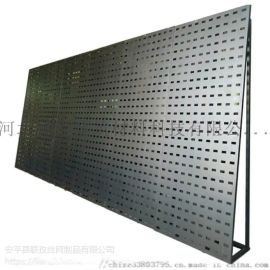 不锈钢冲孔板 洞洞板 瓷砖展示架