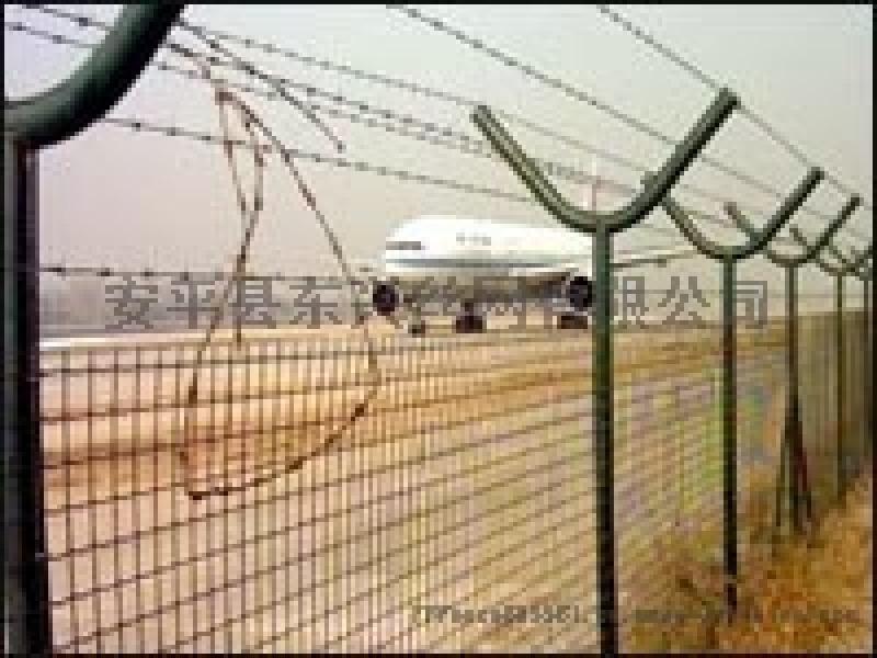 机场护栏网/Y型安全防御网/带刺绳护栏网