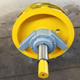 定制起重机配件车轮组 加工定制铸钢行车轮现货