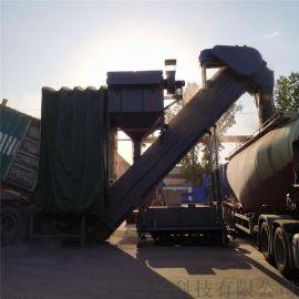 集装箱水泥粉料翻箱倒罐车输送机粉煤灰自动卸车机