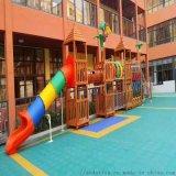 進口黃花梨實木 非標定製兒童大型組和滑梯遊樂場