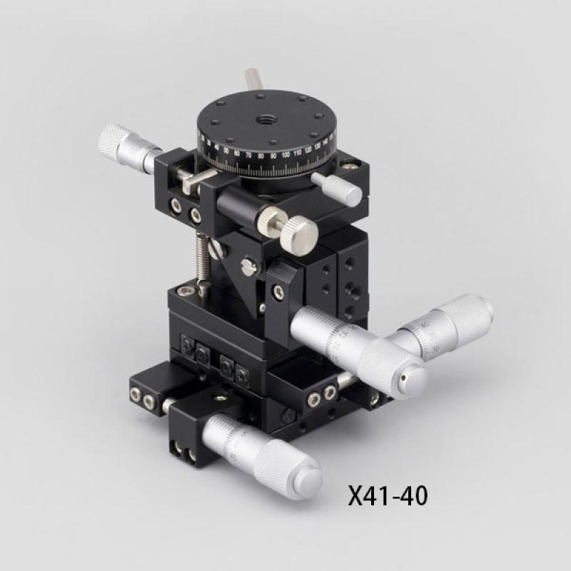 厂家供应四维调整架X41,组合微调架