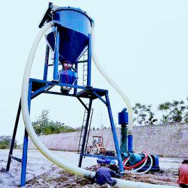 罐装干粉卸料装车用气力输送机 50吨输送量吸料机