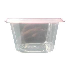 方形密封塑料保鲜盒  食品级PP塑料盒