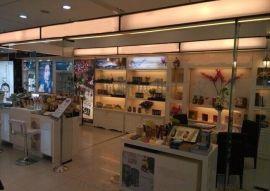 廠家定做四川化妝品展櫃 化妝品貨櫃 化妝品貨架