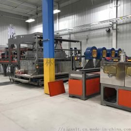 土工三维网防护网设备挤出生产线