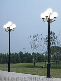 四川中晨 太阳能led路灯杆A字道路照明灯
