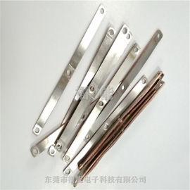 叠片式铜箔软连接软铜排连接件制作流程