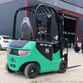 捷克电动叉车 1吨小型座驾式仓库电动叉车