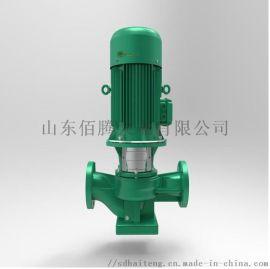 立式多级泵不锈钢冷热水循环水泵 管道增压离心泵