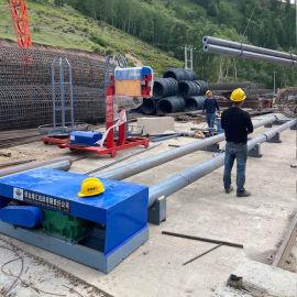 数控滚笼机,钢筋笼成型机助力桥建