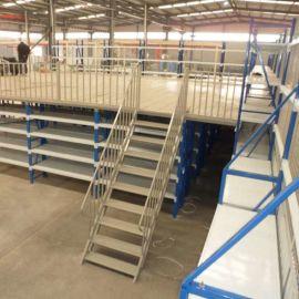潍坊二层仓库货架GL02夏津工厂货架高层配件货架
