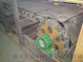 石头输送机 链板输送机生产线 六九重工 生活垃圾加