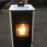 可接地暖暖气片颗粒炉厂家 新型生物质颗粒取暖炉