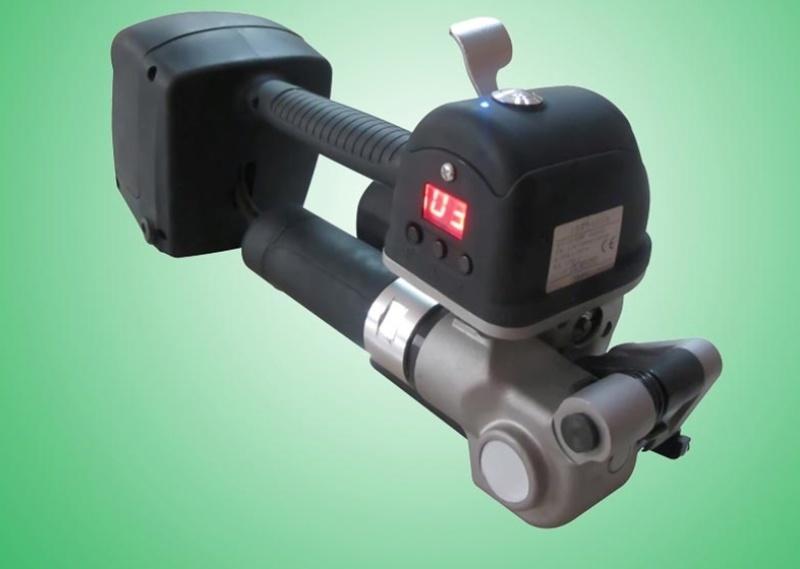 廉江塑钢带打包机手提式英德电动捆扎机重量轻