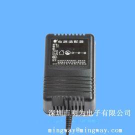 厂家直销12V1A 220V转12VDC变压器电源