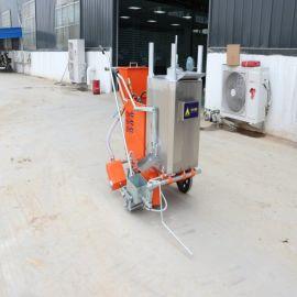 路面热熔划线机 小区停车位标线机 手推冷喷划线车