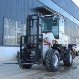 定製3.5噸裝卸搬運堆高車 多功能改裝越野叉車