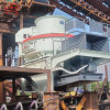 石灰石鹅卵石制砂机 红星机器vsi冲击破制砂机价格 时产50-500吨