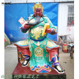 伽蓝菩萨佛像塑像 护教伽蓝韦陀菩萨佛像 关公神像