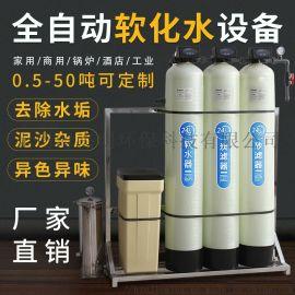 0.5吨每小时简易软化水处理设备