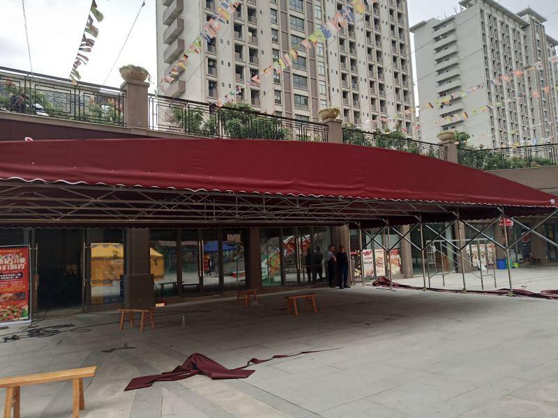 誼美琪優活動棚,電動棚,大排檔雨棚,遮陽篷、雨蓬、伸縮蓬、