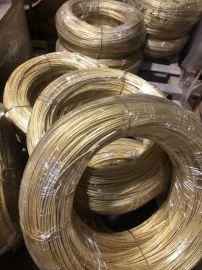 厂家供应H65黄铜线H70黄铜线拉链黄铜扁线
