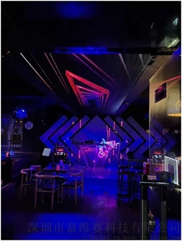室内全彩p4会议室舞台小间距LED科技电子高清屏幕