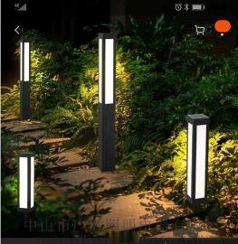 最新款小區人體感應LED草坪燈 庭院燈