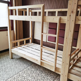 郑州上下床出售实木床批发上下铺实木上下铁厂家