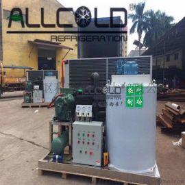 广东30吨商用片冰机 海鲜水产制冷设备定制