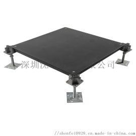 OA网络地板线槽地板机房活动全钢高架架空地板办公写字楼地板