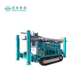 HFJ300C液压动力头钻机,履带式打水井钻机