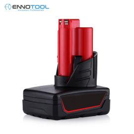 适用于12V米沃奇电动工具锂电池C12BX