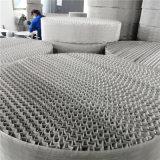 酒精塔CY700單層絲網波紋填料高效型絲網規整填料