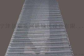 耐腐玉米大豆流水线输送机人字网带