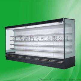超市保鲜展示柜水果蔬菜冷藏柜立式风幕柜牛奶冷柜豪华