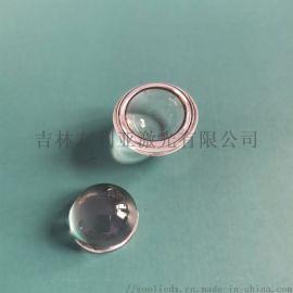 紫外石英半球光纤聚焦镜玻璃透镜