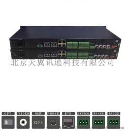 岗哨专用多业务光端机 8路16路视频光端机
