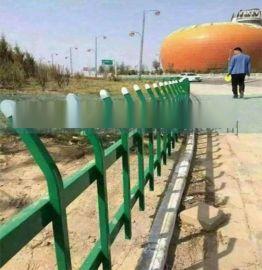 公路防撞护栏 道路施工隔离栏锌钢护栏