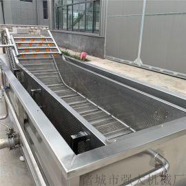 气泡清洗机厂家 不锈钢连续式清洗流水线