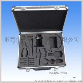 东莞市莱迪铝箱制品厂供应铝合金手提箱免费设计