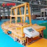 模具运输10吨双舵轮横移平板车, 冲压换模台车