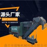 商砼站集裝箱卸料中轉設備 散裝粉煤灰卸車機