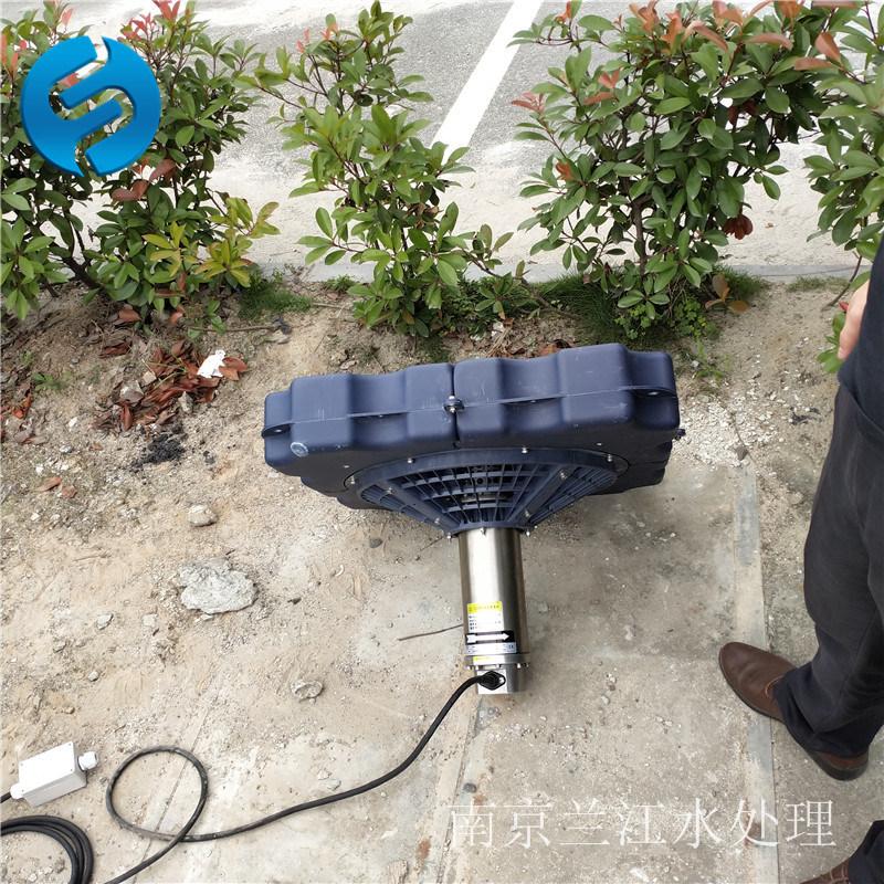 浮筒喷泉曝气机 喇叭口喷泉曝气机 水膜喷泉曝气机