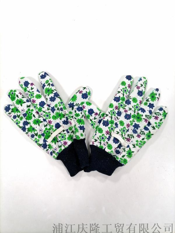 女款园林园艺手套防滑耐磨透气劳保手套种花养花用