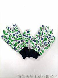 女款園林園藝手套防滑耐磨透氣勞保手套種花養花用