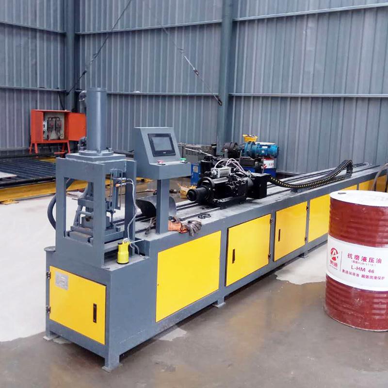 全數控小導管衝孔機生產廠家 隧道小導管衝孔機編程