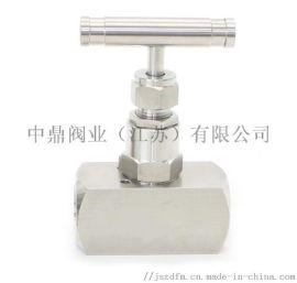中鼎NV0060不锈钢横杆针型阀DN25