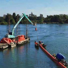 河道入口农业废物栏漂浮筒稳固BT制造浮筒